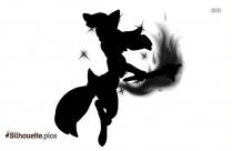 Squidward Silhouette Clipart