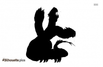 Hydra Monster Silhouette Art
