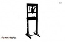 Outdoor Fitness Equipment Silhouette