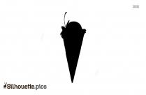 Ice Creame Silhouette