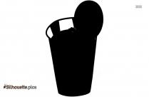 Juice Bottle Silhouette Image