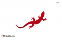 Lizard Silhouette Image And Vector
