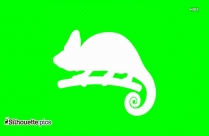 Iguana Silhouette Vector And Graphics