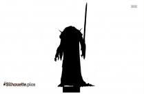 Samurai Jack Cute Characters Silhouette
