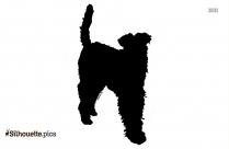 American Eskimo Dog Silhouette