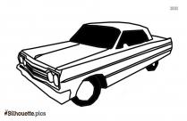 Lack Cartoon Car Silhouette Image