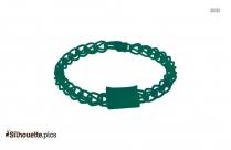 Indian Bracelet Clipart Silhouette