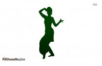 Indian Classical Dance Silhouette