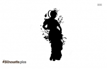 Indian Dancing Silhouette Icon