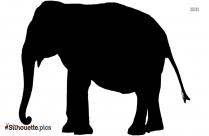 Cartoon Elephant Silhouette Illustration Graphics