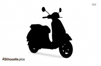 Honda Scooter Silhouette Background