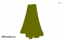Indian Skirts Silhouette Clip Art
