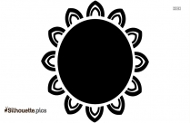 Indian Tribal Designs Silhouette Image