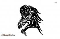 Wild Horse Silhouette Clip Art