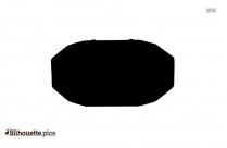 Cartoon Pontoon Silhouette Clipart