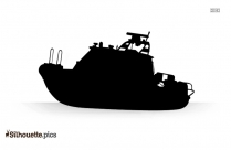 Inflatable Boat Silhouette Picture