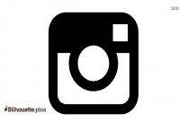 Instagram First Logo Silhouette Art