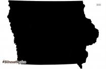 Iowa County Silhouette