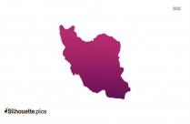 Iran Vector Silhouette