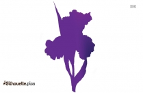 Hyacinth Flower Silhouette, Colorful Flowers Image