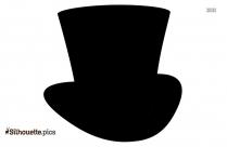 Irish Top Hat Silhouette Clipart