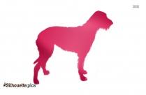 Australian Shepherd Dog Clipart Image Silhouette