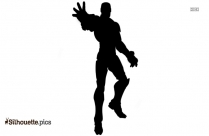 Iron Man Cartoon Silhouette Image
