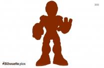 Iron Man Silhouette Background
