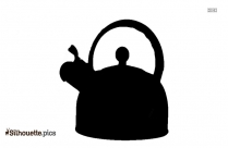 Iron Teapot Tea Infuser Vector Silhouette