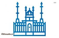 Islamic Temples Outline Silhouette Image