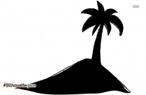 Tree Without Branches Clip Art Silhouette
