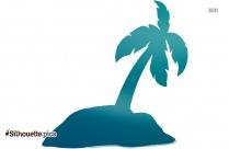 Palm Tree Clip Art, Silhouette