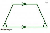 Isosceles Trapezoid Silhouette