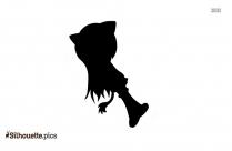 Izary The Cat Silhouette Illustration