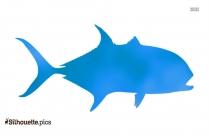 Hake Fish Vector Silhouette Art
