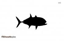 Porpoise Fish Silhouette Art