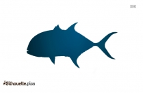 Salmon Fish Silhouette Clipart