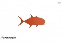 Jack Fish Silhouette Clip Art