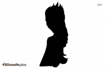 Jack Frost Silhouette Free Vector Art Image