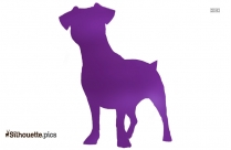 Image Of Fox Terrier Silhouette