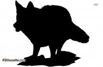 Jackal Coyote Silhouette Image