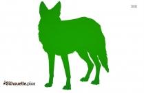 Jackal Wild Animals Silhouette