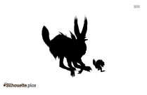 Jackalope Silhouette Free Download