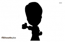 Jackie Chan Cartoon Silhouette