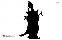 My Little Pony Fire Queen Silhouette Image