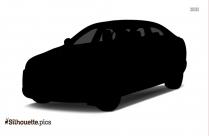 Jaguar Car Silhouette Image