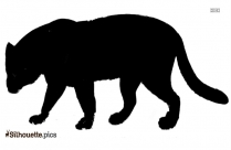 Clipart Of American Staffordshire Terriers Silhouette