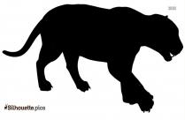 Deer Silhouette Vector Graphics