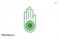 Jainism Silhouette Icon