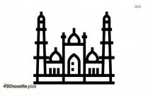 Jama Masjid Silhouette